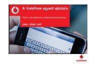 ÚJ !Vodafone egyedi ajánlat