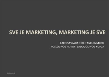 Modul 2 - Sve je marketing, marketing je sve