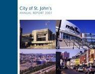 Annual Report 2001 - City of St. John's