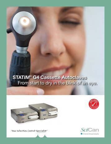 STATIM G4 Ophthalmology brochure - Scican.uk.com