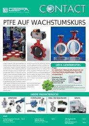 PTFE AUF WACHSTUMSKURS - GEFA Processtechnik GmbH