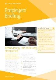 Employers' Briefing June 2011 - Crowe Horwath International