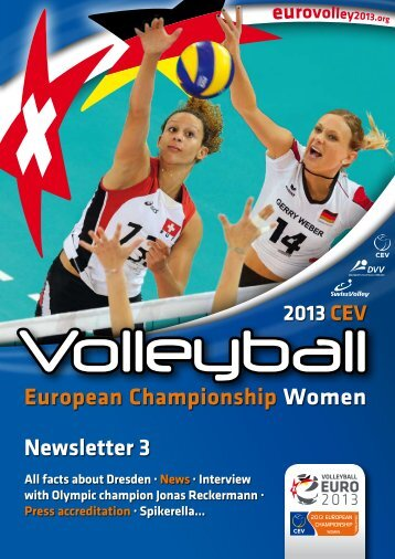 The Newsletter edition 3 - Volleyball European Championship ...