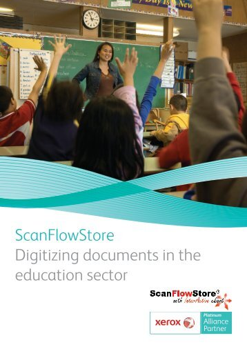 ScanFlowStore Digitizing documents in the education sector