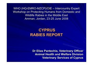 Rabies in Cyprus - Middle East - OIE