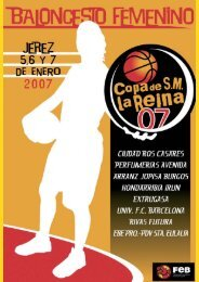 BFEMENINO 12.qxd - Federacion Española de Baloncesto