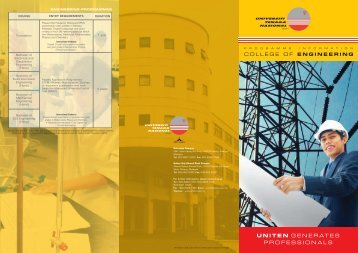 Download Brochure - Universiti Tenaga Nasional