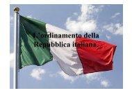 L'ordinamento della Repubblica italiana. - Scuole Maestre Pie