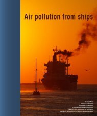 Air pollution from ships - the pep