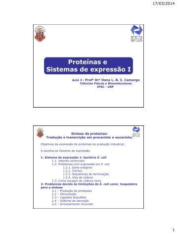 Aula 3 - IFSC - USP