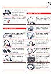 CD adaptors Diverse