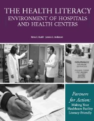 Partners for Action: Making Your Healthcare Facility