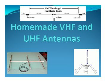 Homemade VHF/UHF Antennas - Cascade Amateur Radio Society
