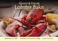 Postcard Invitation - Dutchess Community College