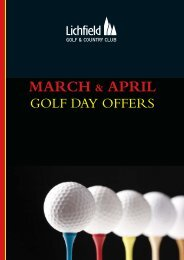 LF March April 2010 Offers.qxd - The Club Company