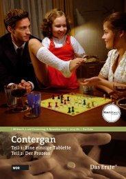 Contergan Teil 1: Eine einzige Tablette Teil 2: Der Prozess