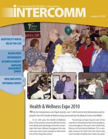 Health & Wellness Expo 2010 - The Medical Center
