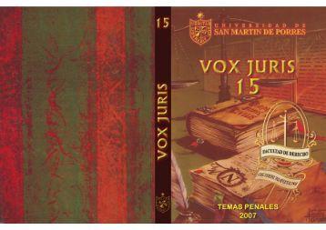 Fotografía de página completa - Facultad de Derecho - Universidad ...