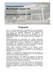 Programm - (GFID) eV