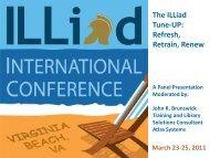 The ILLiad Tune-UP: Refresh, Retrain, Renew - Atlas Systems