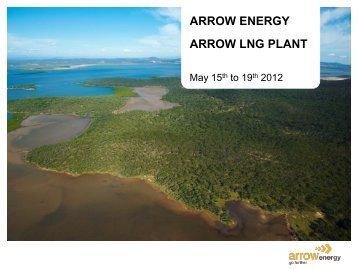 arrow lng plant - Arrow Energy