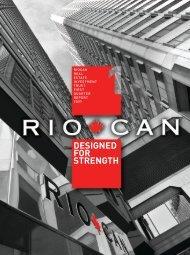 Q1 2009 Report to Unitholders - English version (PDF 1.35 ... - RioCan
