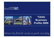 Yatala Business Profile 2009 - Business Gold Coast
