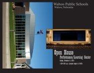 Open House - Wahoo Public Schools