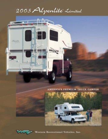 2005 Alpenlite Truck Campers - Rvguidebook.com