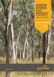 Arrow Bowen GAs Project - Arrow Energy