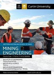 MINING ENGINEERING - Curtin University