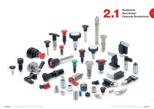 10 St/ück GN 614-5-KD Ganter Normelemente Federnde Druckst/ücke zum Einpressen Kunststoff