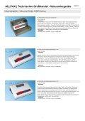 ALLPAX | Technischer Großhandel - Vakuumiergeräte - Seite 6