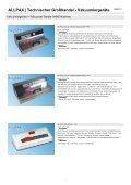 ALLPAX | Technischer Großhandel - Vakuumiergeräte - Seite 7