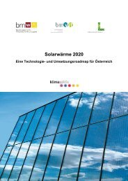 Solarwärme 2020 - bei AEE - Institut für Nachhaltige Technologien