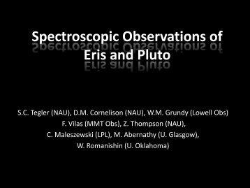 Pluto Eris