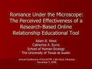Romance Under the Microscope: The Perceived Effectiveness of a ...