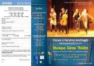 Musique Danse Théâtre - Créteil