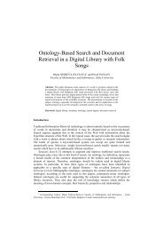Ontology-Based Search and Document Retrieval in a Digital Library ...