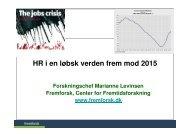 (Microsoft PowerPoint - HR i en l\370bsk verden frem mod 2015 ...