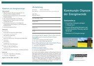 Kommunale Chancen der Energiewende - Energieagentur ...