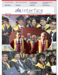 April- June, 2010 - International Management Institute