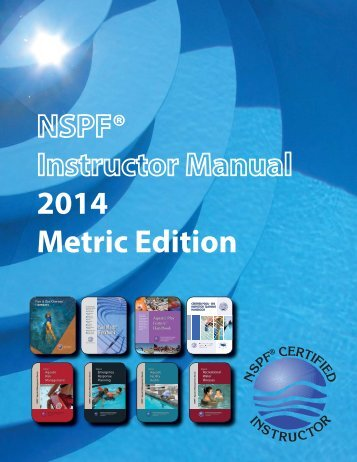 English Instructor Manual (PDF) - Metric Version - National ...