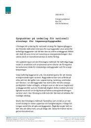 Synpunkter på underlag för nationell strategi för ... - Sabo