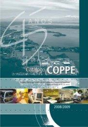 Catalogo COPPE 2008_mar2008 - UFRJ