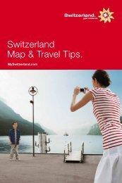 Switzerland Map & Travel Tips.