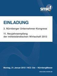 3. Nürnberger Unternehmer-Kongress - Familienunternehmen