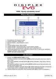 K656 - Rychlý uživatelský návod