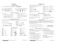 Derivatives - Pauls Online Math Notes