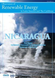 nicaragua - Observatory for Renewable Energy in Latin America and